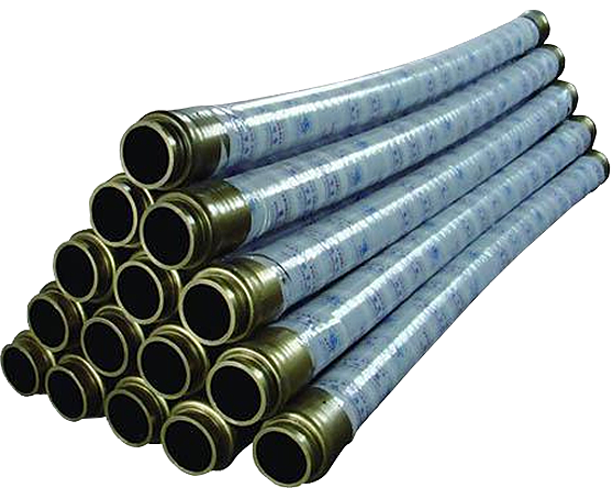混凝土胶管。适用于输送高磨损材料如混凝土、水泥和石膏。使用寿命长、灵活、容易操作,有特殊的抗扭结设计。